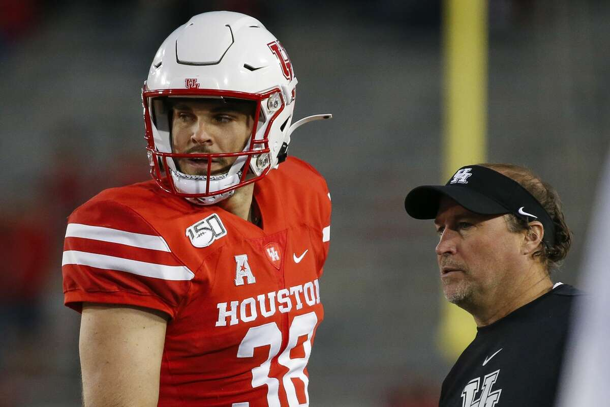 Punter Dane Roy has been one of the few consistent bright spots during Dana Holgorsen's first season as UH coach.