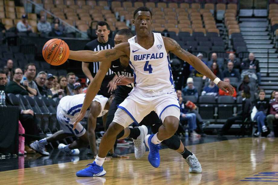 Davonta Jordan and Buffalo will face off against UConn on Thursday in the Chareslton Classic in Charleston, S.C. Photo: Chris Young / Associated Press / The Canadian Press