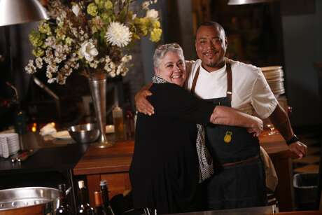 Chef Dre and Pepa, owners of Gravy, dish out southern-inspired fare. Photo: Courtesy Gravy