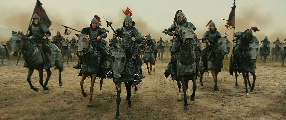 "Scene from the South Korean film ""The Great Battle"" Photo: WellGo USA"