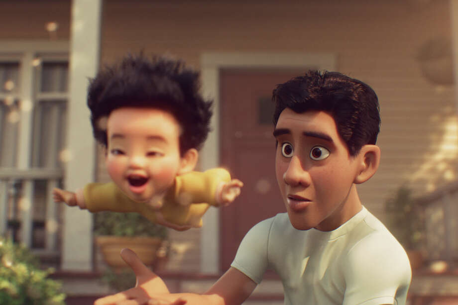 "A scene fromPixar'sshort film ""Float."" Photo: Pixar"