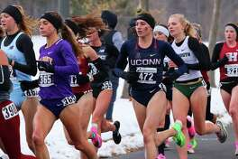 UConn junior Mia Nahom of New Milford recently finished fourth out of 226 runners at the NCAA Northeast Regional race at the Audubon Golf Course in Buffalo, N.Y., advancing her to the NCAA Championship.
