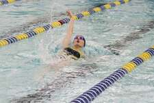 Manistee's Lauren Mendians will compete in the 50-yard freestyle and 100-yard backstroke in the Division 3 state finals at Oakland University this week.