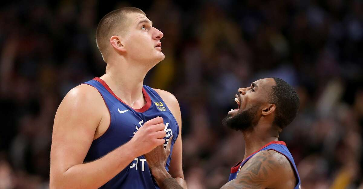 PHOTOS: Rockets game-by-game Nikola Jokic #15 of the Denver Nuggets celebrates with Will Barton III #5 after making the game winning basket in the final seconds against the Philadelphia 76ers in the fourth quarter at the Pepsi Center on November 08, 2019 in Denver, Colorado. (Photo by Matthew Stockman/Getty Images) Browse through the photos to see how the Rockets have fared in each game this season.