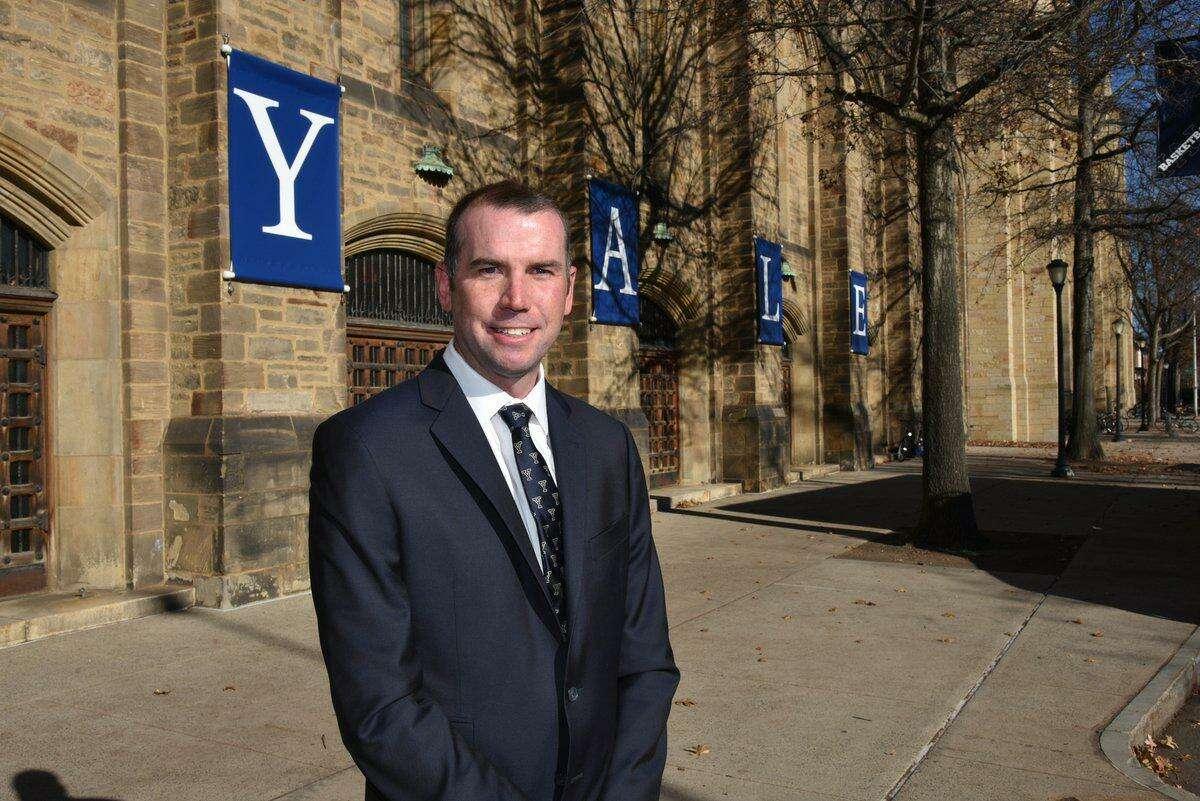 Former Yale women's soccer coach Brendan Faherty.