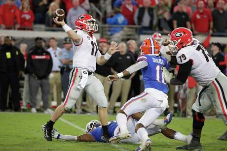 Georgia quarterback Jake Fromm has led the Bulldogs to three straight SEC East titles after a win last week over Auburn. His only loss this year came with four turnovers against South Carolina.