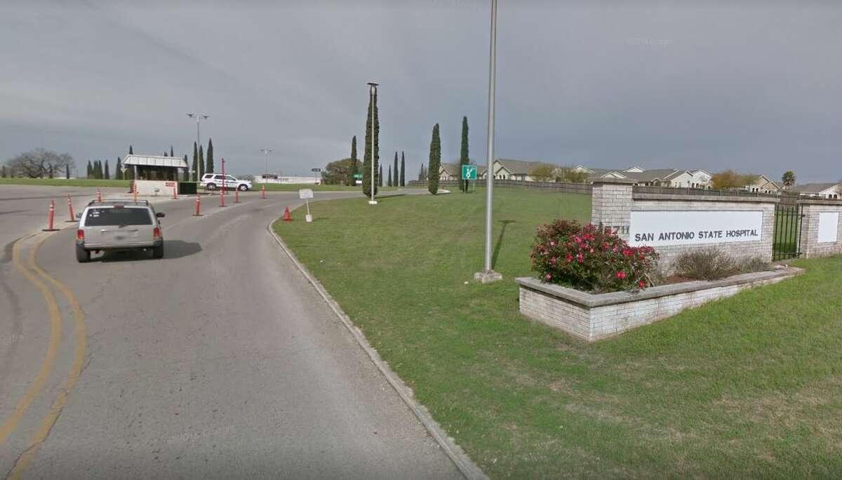 Google Street View shows the area around the San Antonio State Hospital.