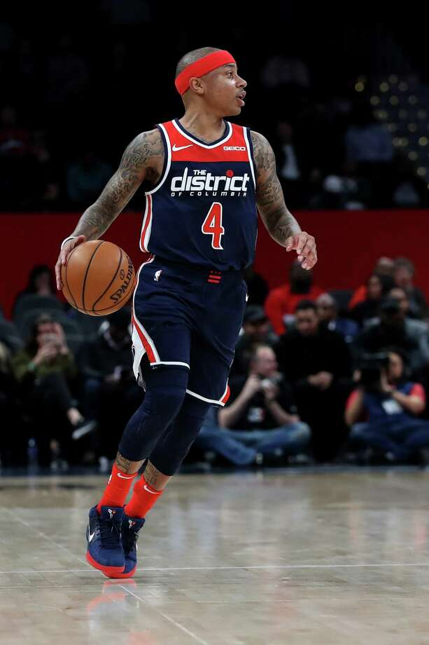 NBA player Isaiah Thomas, a Tacoma native and former Washington Huskies star, is donating more than 1,000 meals to those in the UW Medical Center community impacted by COVID-19. Photo: Rob Carr, Getty Images / 2019 Getty Images