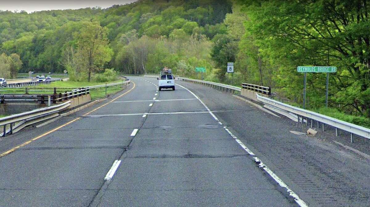 The state Department of Transportation will hold a public hearing on the rehabilitation - or replacement - of a 55-year-old Route 8 bridge in Thomaston that is in poor condition.
