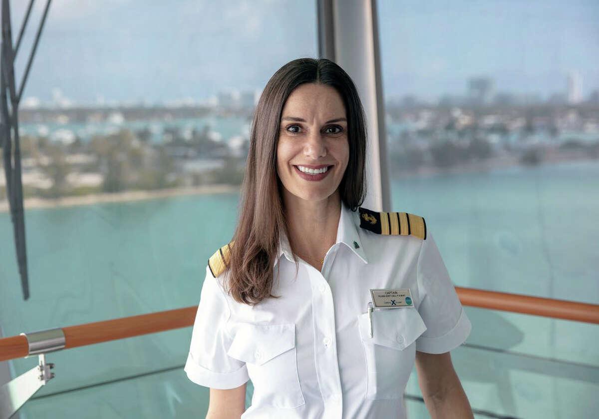 Captain Kate McCue.