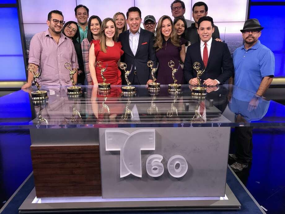 Telemundo 60 San Antonio received seven Lone Star Emmy awards last weekend. Photo: Courtesy Telemundo 60 San Antonio