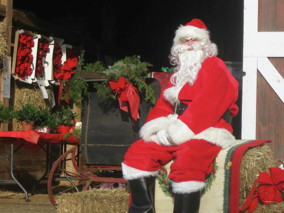 Santa will make three visits to Ambler Farm in Wilton this holiday season — Nov. 30, Dec. 1 and Dec. 13. Photo: Contributed Photo / / Wilton Bulletin Contributed