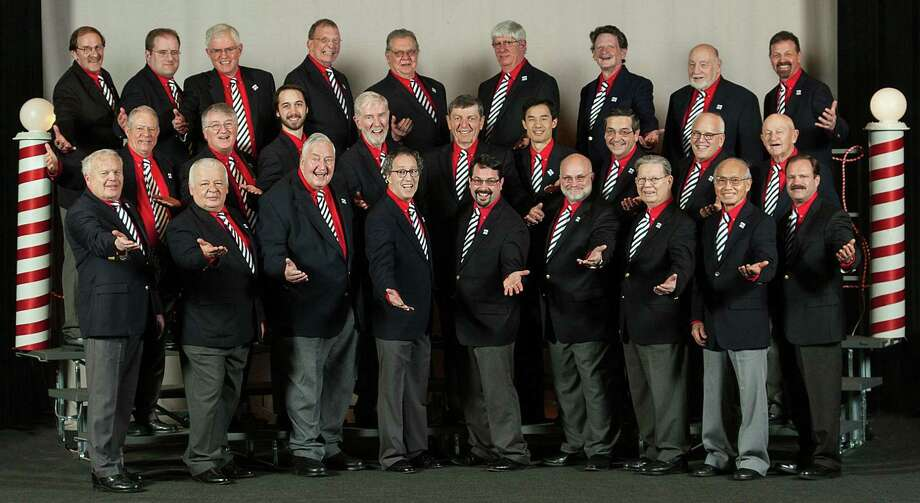 The Coastal Chordsmen will perform a free concert at the Trumbull Library on Sunday, Dec. 1. Photo: Contributed Photo