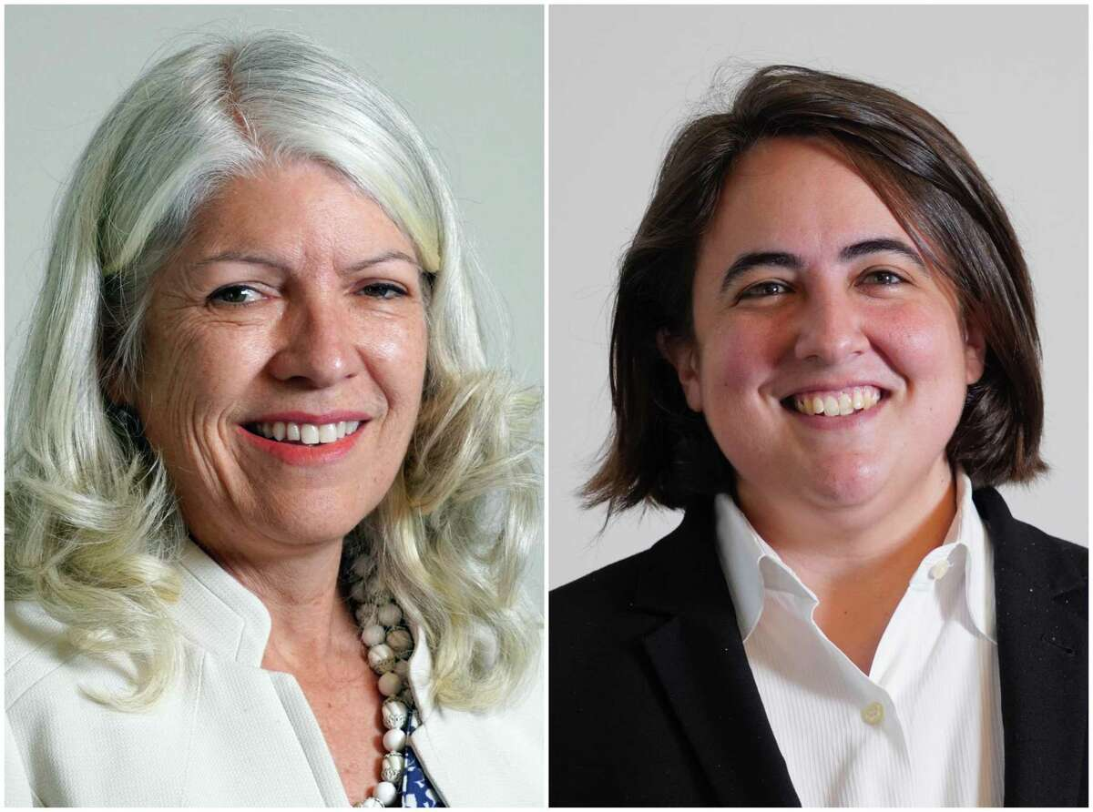 Karla Cisneros, left, and Isabel Longoria, right, are candidates for the District H seat on Houston City Council.