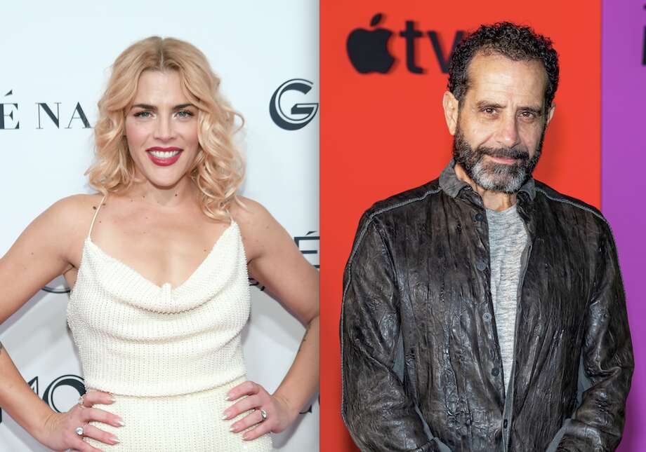 L-R: Busy Philipps, Tony Shalhoub will both appear at the upcoming Sketchfest in January. Photo: L-R: Dimitrios Kambouris/Getty Images For Glamour; Roy Rochlin/WireImage