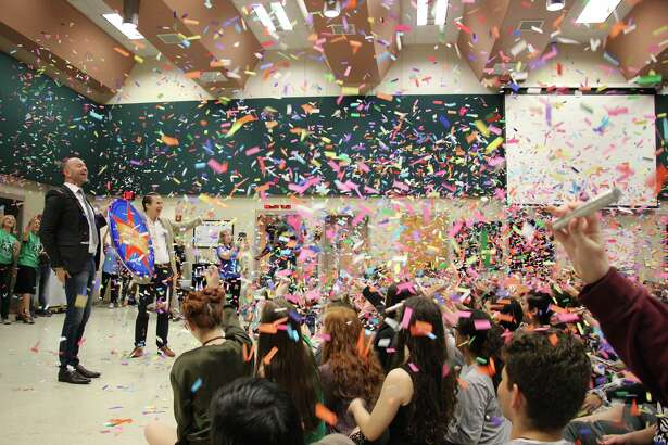 The marching band at Reagan High School was selected to play at the Macy's Thanksgiving Day Parade in New York City.