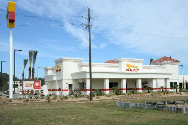 In-N-Out Burger under construction in Katy, TX on November 2, 2019.