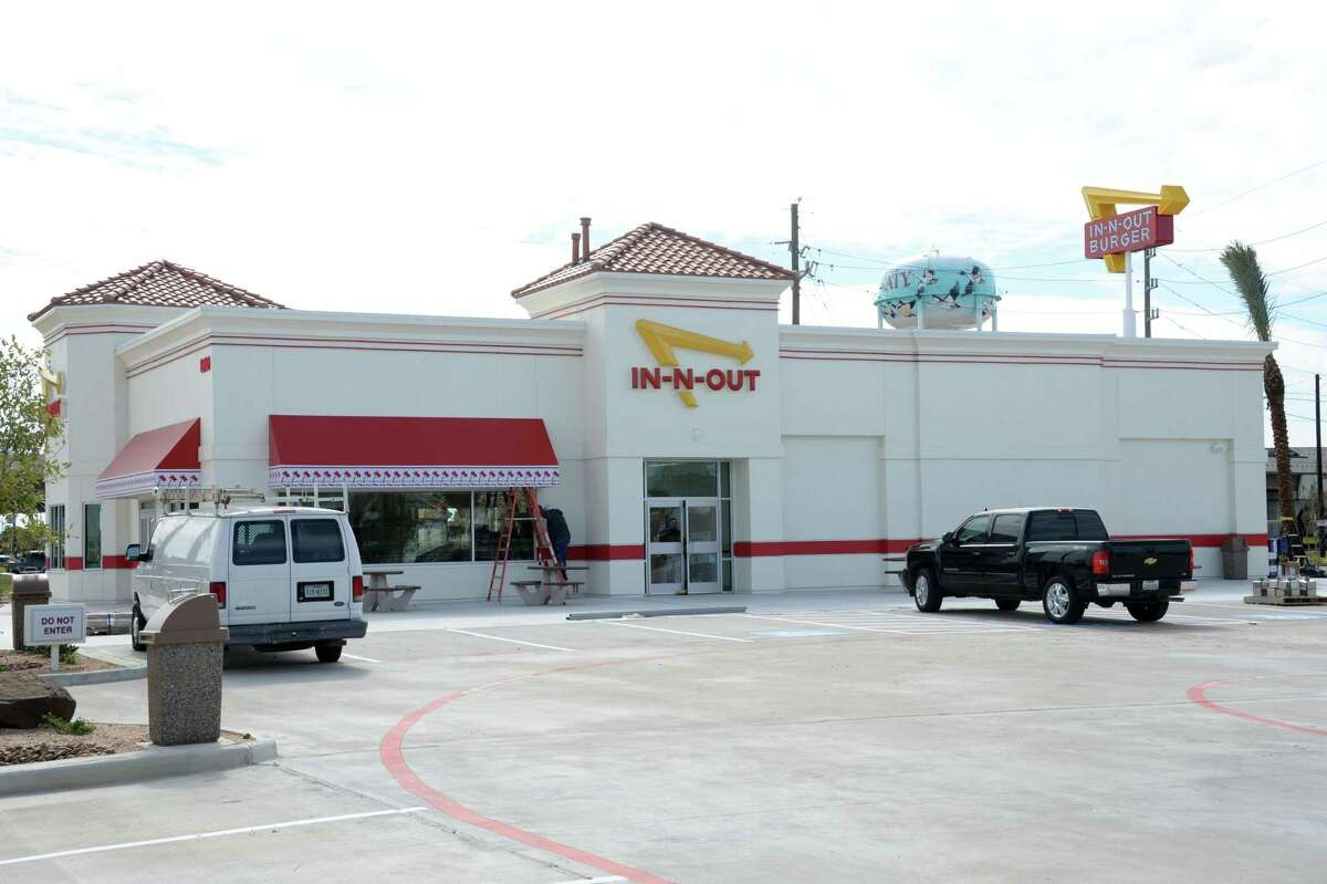 In-N-Out Burger under construction in Katy on Nov. 2.