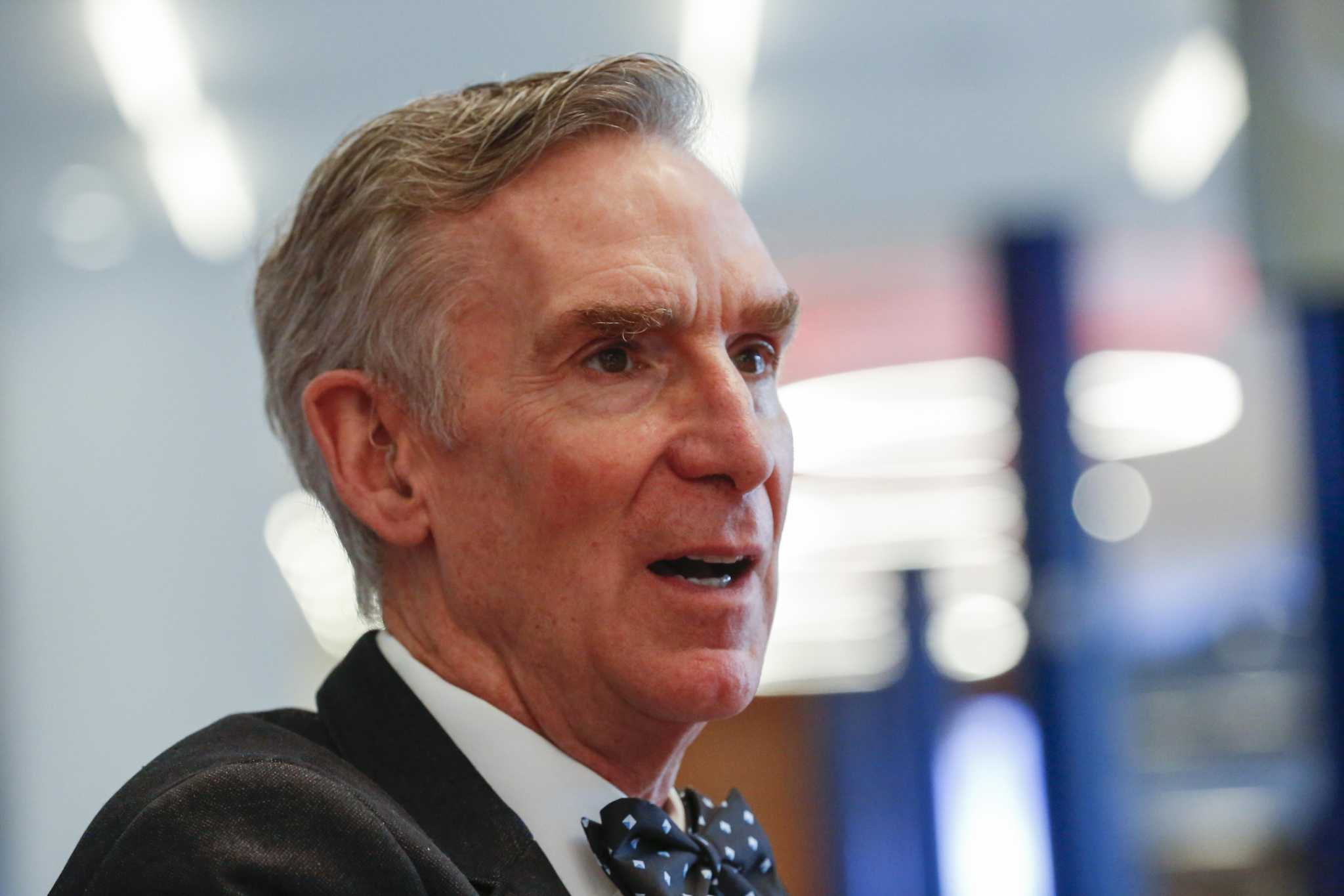 Science Guy Bill Nye pitches space sailing, exploration in Houston