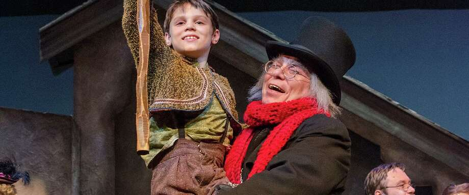 "The Nebraska Theatre Caravan production of ""A Christmas Carol,"" is coming to Stamford's Palace Theatre on December 13. Photo: Palace Theatre / Contributed Photo"