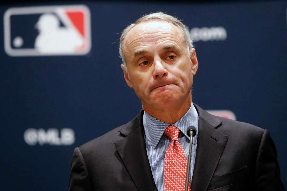 In an interview with ESPN that aired Sunday morning, Rob Manfred defended the immunity he granted Astros players who were involved in the sign-stealing scheme.