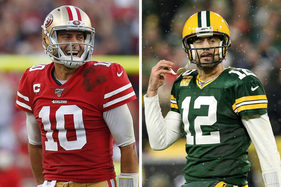 The 9-1 San Francisco 49ers host the 8-2 Green Bay Packers on Sunday, Nov. 24 at Levi's Stadium. Average ticket prices are $339 as of Nov. 21. Photo: Getty Images/SFGATE