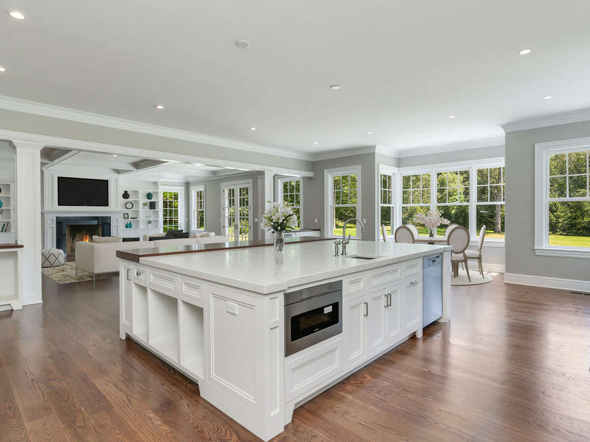 867 Valley Road in New Canaan is on the market for $2.19 million and comes with a three-year lease on a Range Rover.