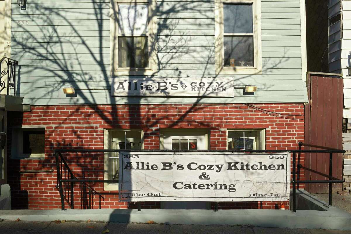 Exterior of Allie B's Cozy Kitchen on Clinton Ave. on Wednesday, Nov. 13, 2019 in Albany, N.Y. (Lori Van Buren/Times Union)