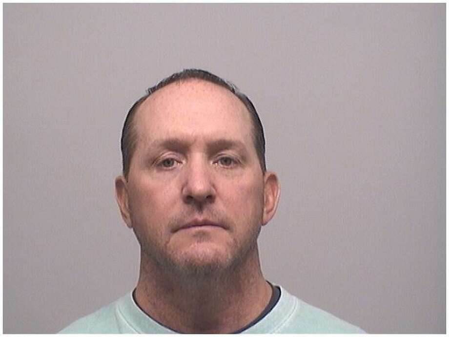Stamford Police Officer George Jagodzinski, 47, was charged with breach of peace for his involvement in a domestic incident at a Stamford restaurant earlier in November. Photo: Stamford Police Department / Contributed