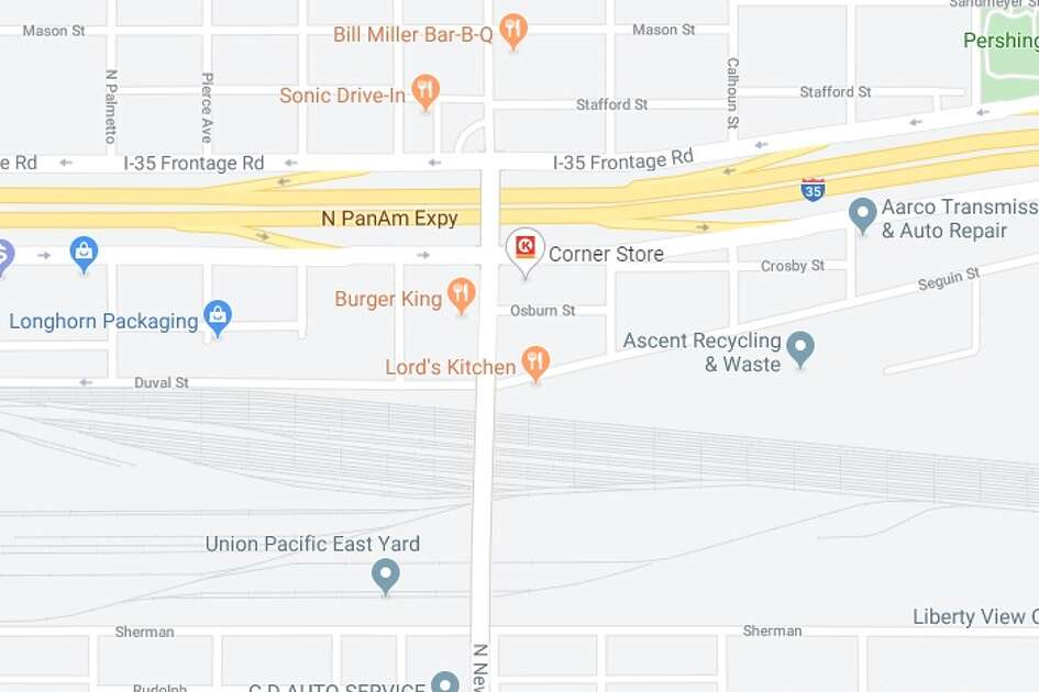 Mainlanes on Interstate 35 near North New Braunfels Avenue will be closed from 9 p.m. Thursday until 5 a.m. Friday, according to the Texas Department of Transportation. This is the area where the closure will take place.