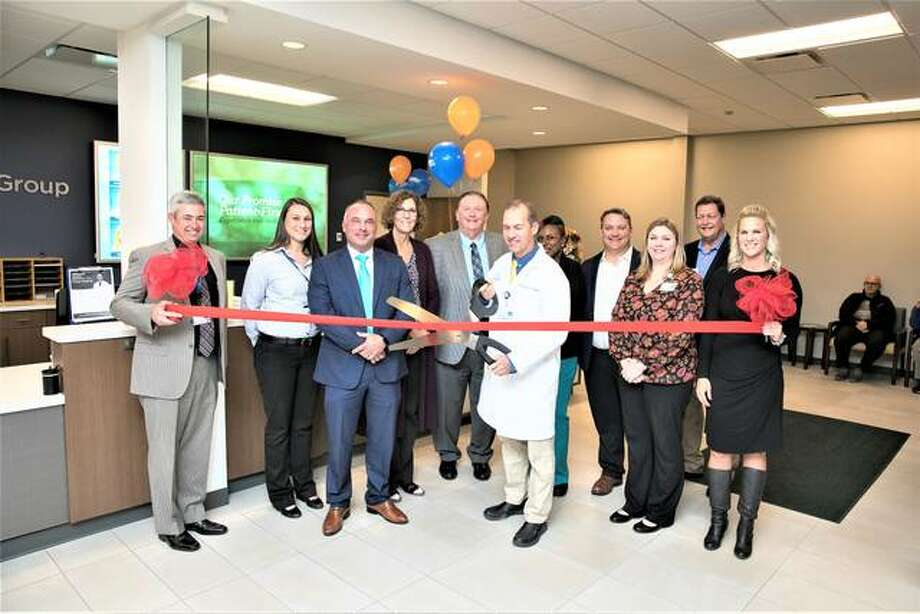A blessing and ribbon cutting was held Nov. 4 for the new HSHS Medical Group Occupational Health and LeadWell™ clinic at 1512 N. Green Mount Road, Suite 108, in O'Fallon, Illinois.