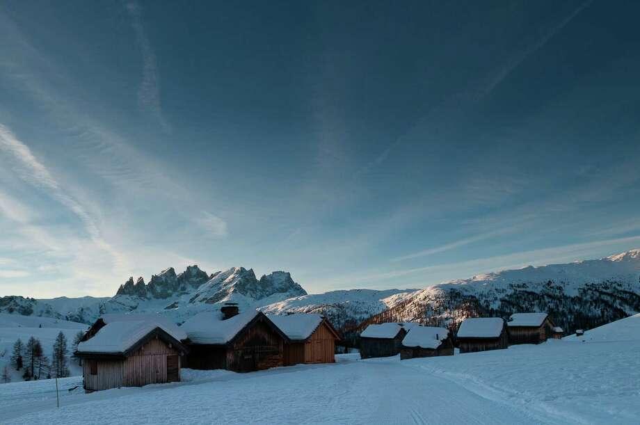 Ski Safari in the Dolomites. Photo: Scott Dunn Luxury Tours. / Scott Dunn Luxury Tours