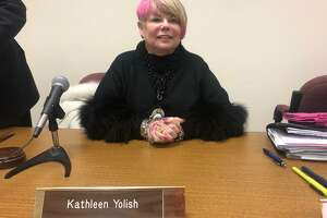 Kathy Yolish was elected new chairman of the Board of Education during its meeting Wednesday, Nov. 20.