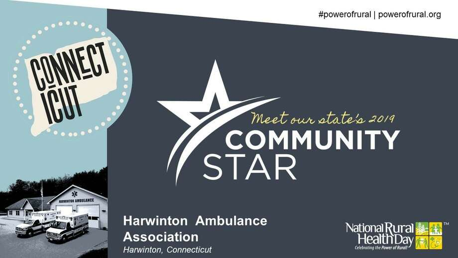 Harwinton Ambulance was recently recognized by the National Organization of State Offices of Rural Health. Photo: Contributed Photo
