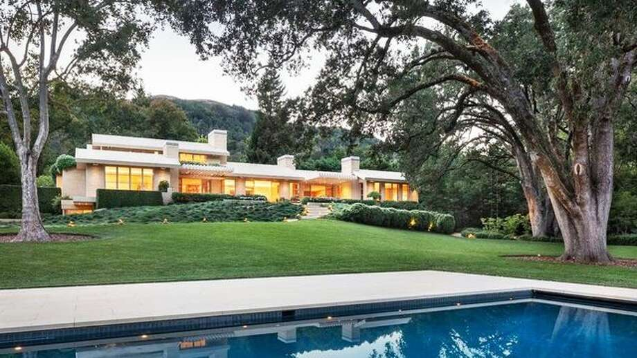 36 Glenwood Ave. in Ross is listed for $85 million, which would make it the most expensive house ever sold on the open market in Marin County. Photo: Realtor.com