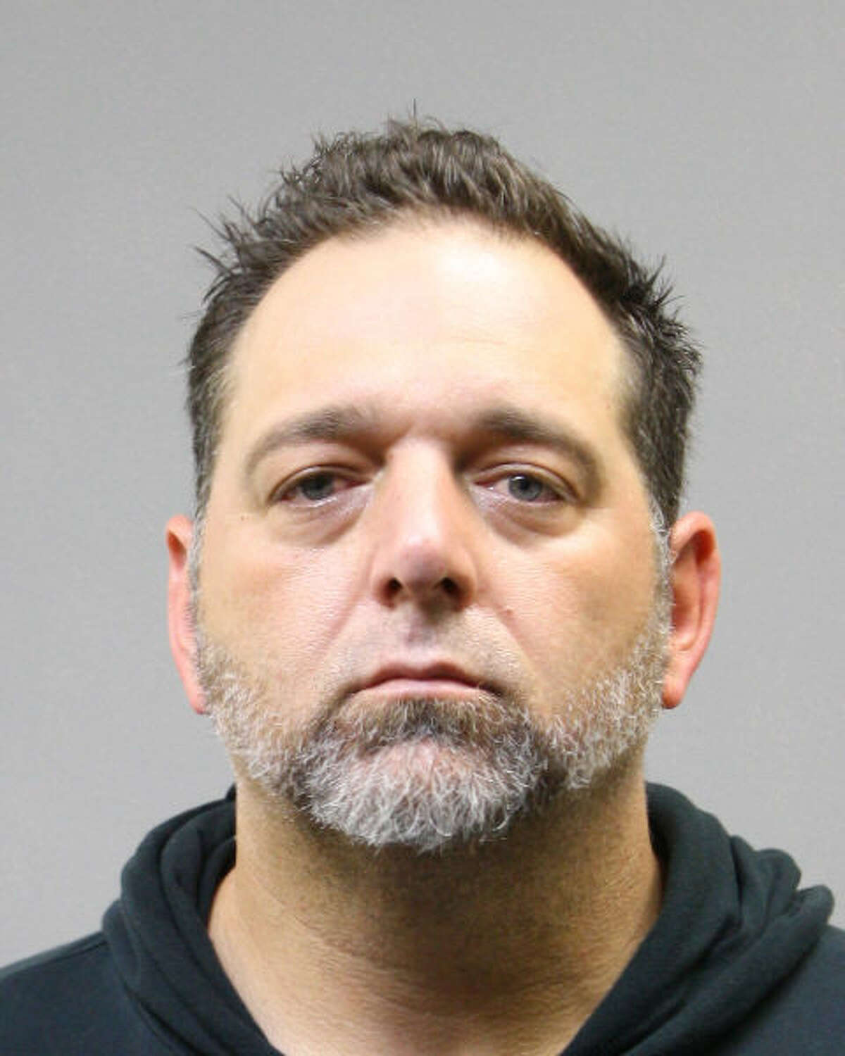 Thomas Moschella, 45, was arrested Tuesday at his northwest Harris County home by the Harris County Sheriff's tactical, bomb squad, violent crime and auto theft units. He has been charged with possession of prohibited weapon IED and possession with intent to distribute a controlled substance after more than 60 grams of meth were seized, according to the sheriff's office.