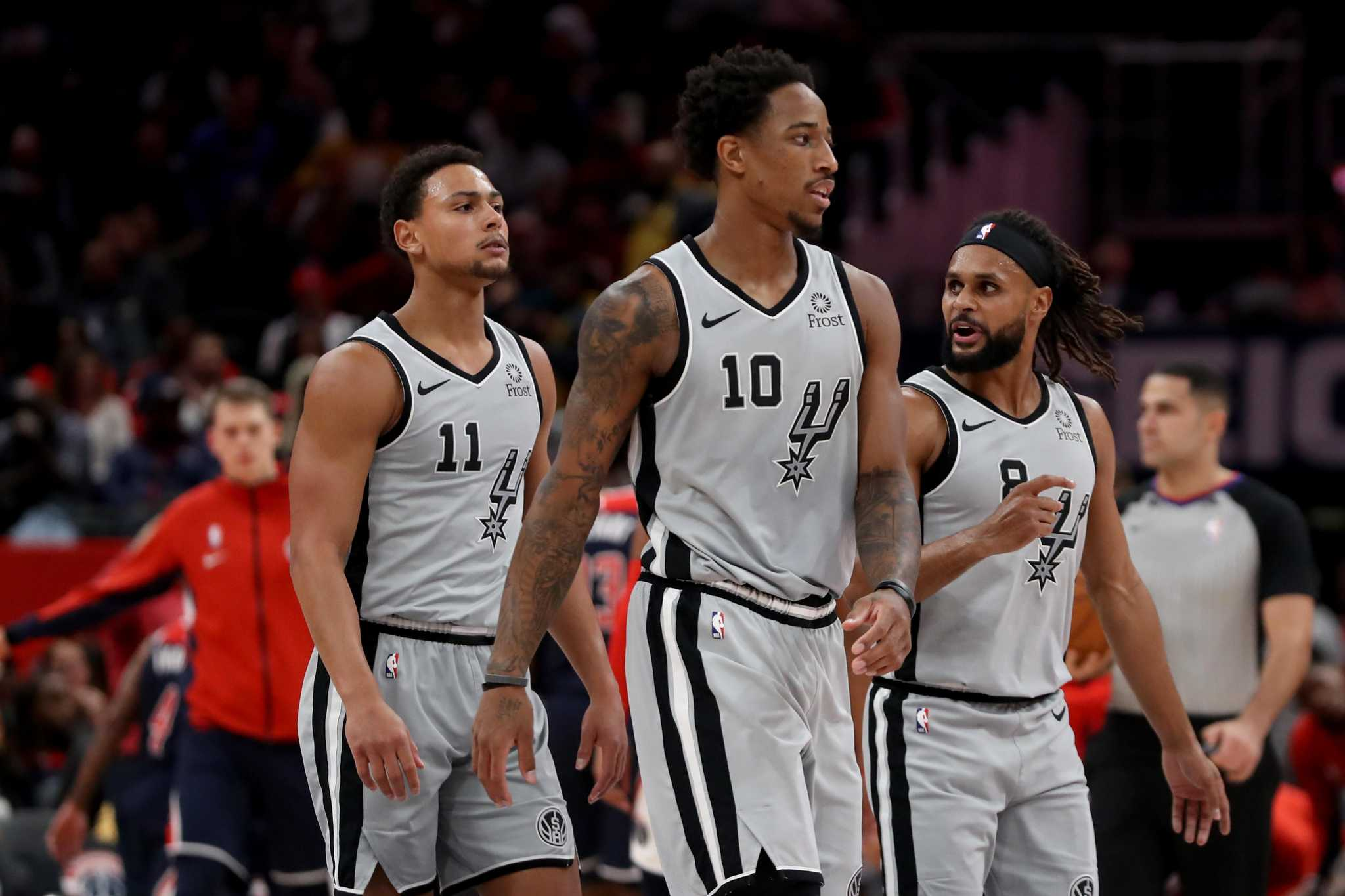 Lineup in flux as Spurs skid into Philly