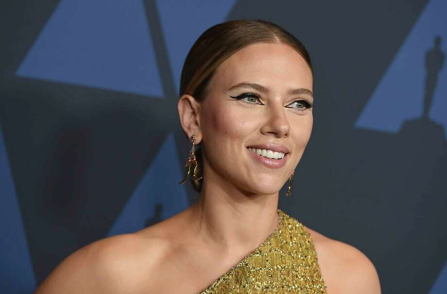 Scarlett Johansson arrives at the Governors Awards on Sunday, Oct. 27, 2019, at the Dolby Ballroom in Los Angeles. (Photo by Jordan Strauss/Invision/AP) Photo: Jordan Strauss / Invision
