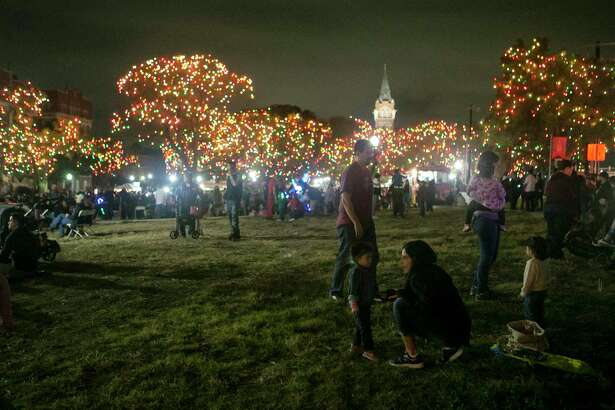 Light the Way holiday festival: It's not a goose getting fat that signals Christmas is coming in San Antonio. It's the thousands of lights illuminating the night at University of the Incarnate Word. The university's Light the Way holiday festival, which includes a holiday market and food trucks, kicks off the holiday season in S.A. about a week before the city flicks the switch on the Christmas tree at Travis Park. 3-9:30 p.m. Saturday (lights on at 6:15 p.m.), University of the Incarnate Word, 4119 Broadway. Free. lightthewaysa.com. Note: The lights will stay on nightly through Jan. 6. - Jim Kiest