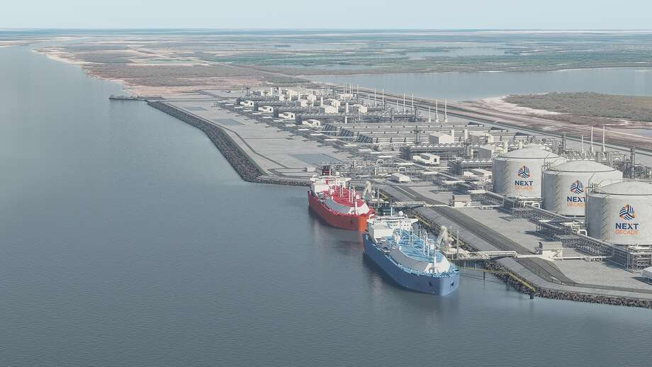 Opponents of the liquefied natural gas industry have sued a federal agency that issued permits for an LNG export terminal at the Port of Brownsville and a related pipeline. Photo: NextDecade
