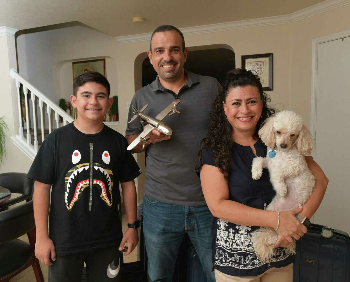 Ernesto Martinez and his wife, Mireya, and son, Alan, are frequent travelers. Thanksgiving and Christmas usually see them in California and Mexico.