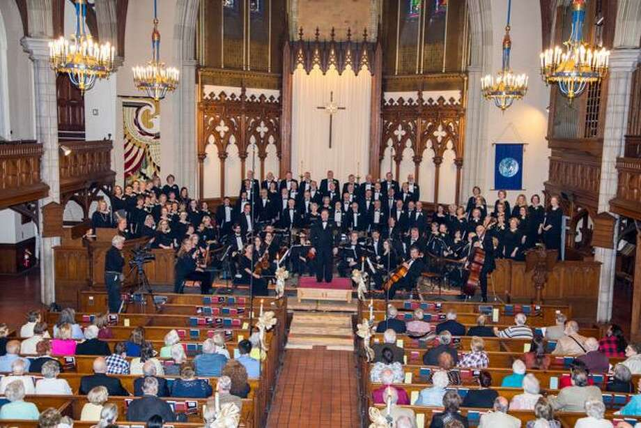 The 80 member Waterbury Chorale, in its 53rd concert season will present two Christmas concerts in early December. Photo: Waterbury Chorale / Contributed Photo