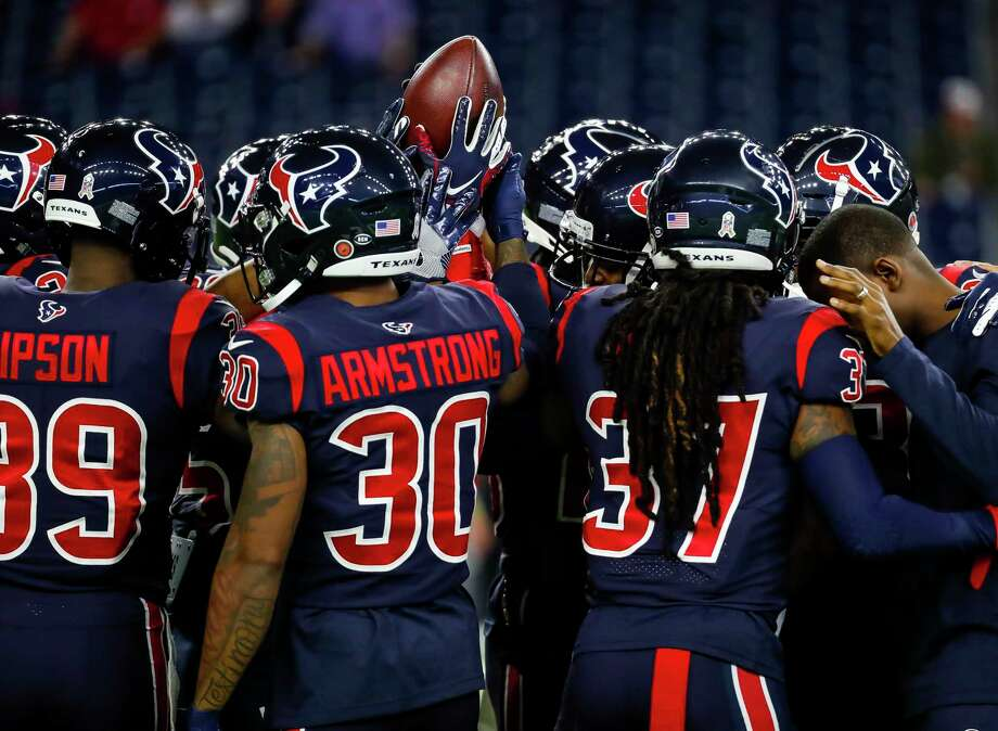 PHOTOS: John McClain's 2019 Week 12 predictions The Texans huddle after warming up before an NFL football game at NRG Stadium on Thursday, Nov. 21, 2019, in Houston. >>>See The General's picks for this week's matchups ... Photo: Brett Coomer, Staff Photographer / © 2019 Houston Chronicle