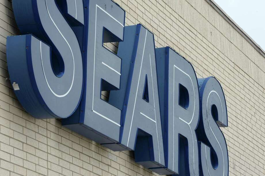 Signage at Central Mall's Sears in Port Arthur.  