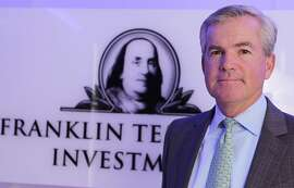 Greg Johnson, the chairman and president of wealth management company Franklin Templeton Investments, poses for picture in Central. 16JAN14 (Photo by Edmond So/South China Morning Post via Getty Images)