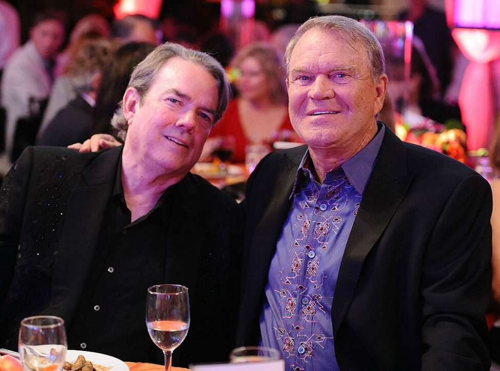 Jimmy Webb and Glenn Cambell (Getty Images)