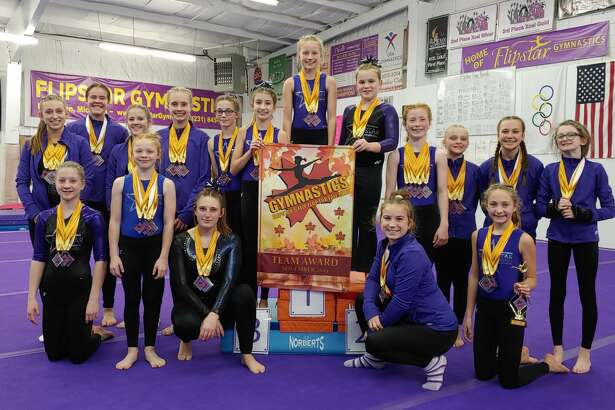 FlipstarGymnastics hosted the Flip Flop for Fall meet and a recreational show-off over the weekend.