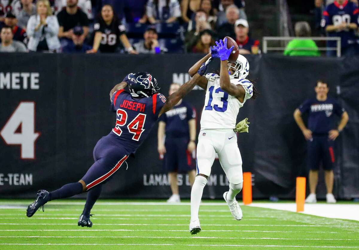 Receiver T.Y. Hilton and the Colts will try to win for the fourth time in five visits to NRG Stadium when they play the Texans on Sunday.