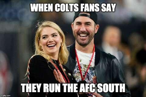 Memes Shred Colts Praise Texans For Win On Thursday Night Football Laredo Morning Times