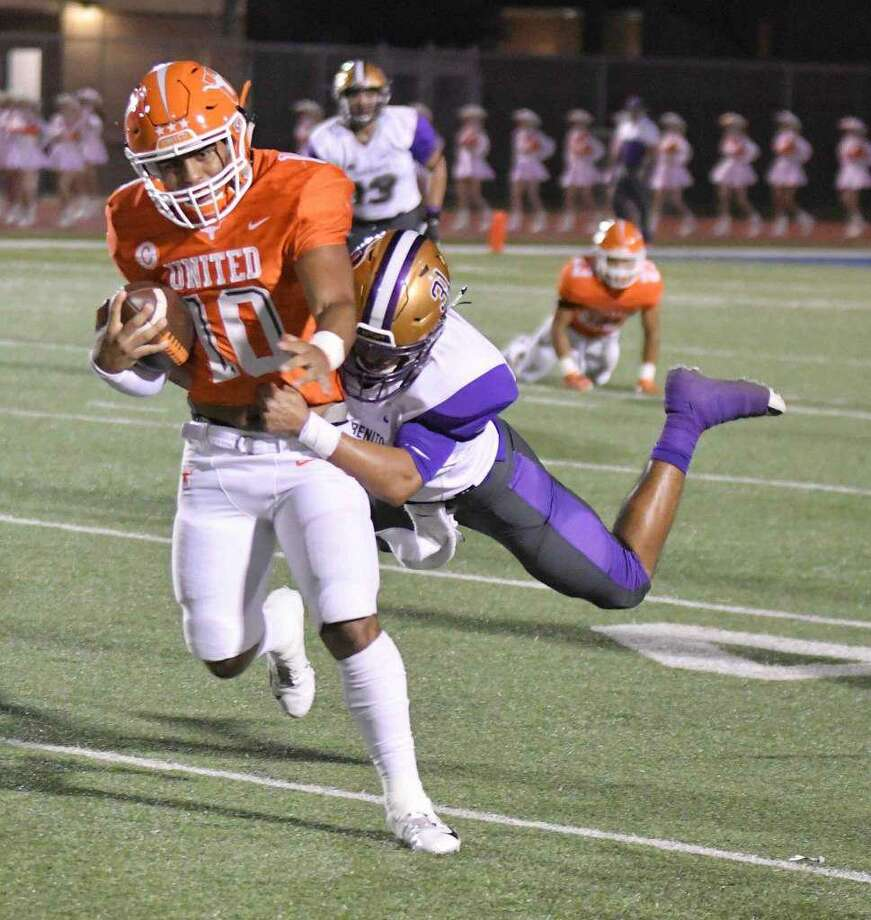 Wayo Huerta and United face San Benito in the Area Championship at 7:30 p.m. Friday in Rio Grande City. Photo: Cuate Santos /Laredo Morning Times